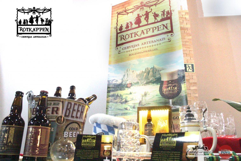 Cervejas de tradição de Rolândia. Para degustar com os pratos do festival em cada estabelecimento. São elas: Rotkappen Red Ale, cor vermelho escuro, rica em malte e generoso aroma de lúpulo; Rotkappen Black Lager, cerveja tipo Altbier rica em malte e baixo amargor. Preço sob consulta.